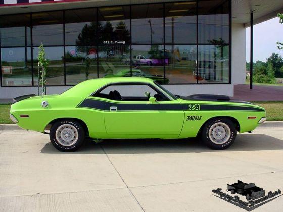 Chrysler Sublime Green Paint Code