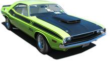 Dodge Challenger T/A Hood