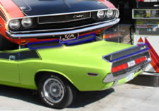 Dodge Challenger T/A Spoilers