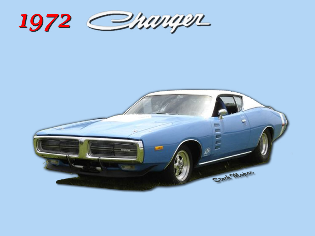 1972 Dodge Charger Wallpaper